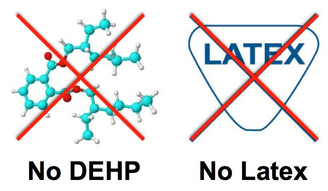 No DEHP-No Latex