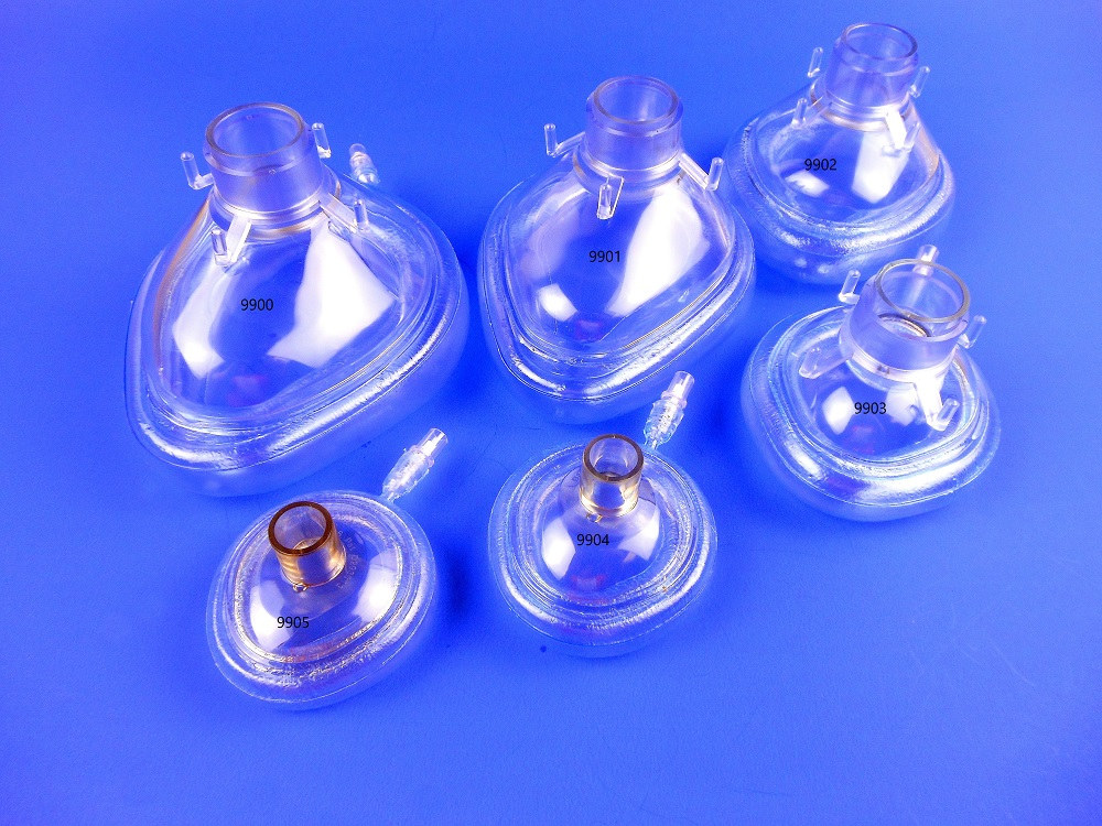 Anesthesia Masks 900 Series, inflation deflation valve