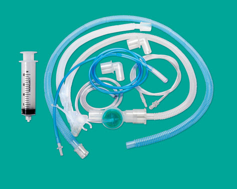 9403 universal circuit with exhalation valve